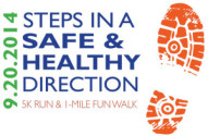 Steps in a Safe & Healthy Direction 5k