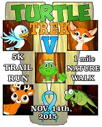 Turtle Trek V – 5k Trail Run & 1 Mile Nature Walk
