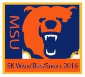 MSU 5K WalkRunStroll Logo 2016 1